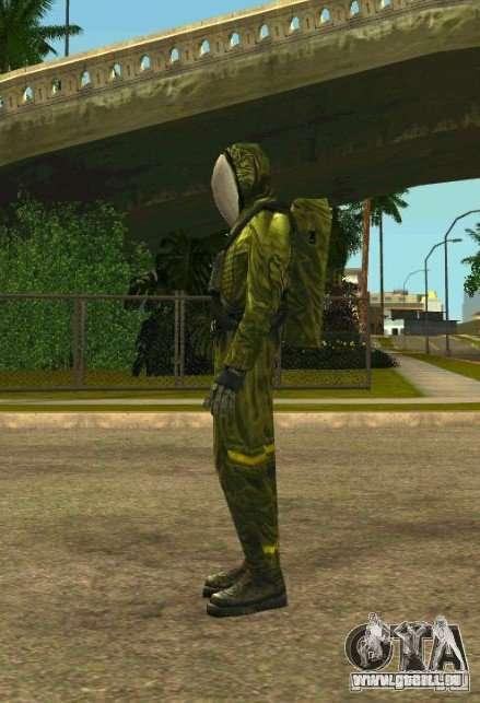 Peaux de S.T.A.L.K.E.R. pour GTA San Andreas deuxième écran