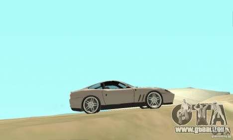 Ferrari F575 pour GTA San Andreas vue de droite