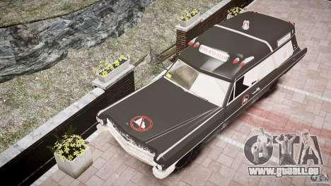 Cadillac Wildlife Control pour GTA 4 est une vue de l'intérieur
