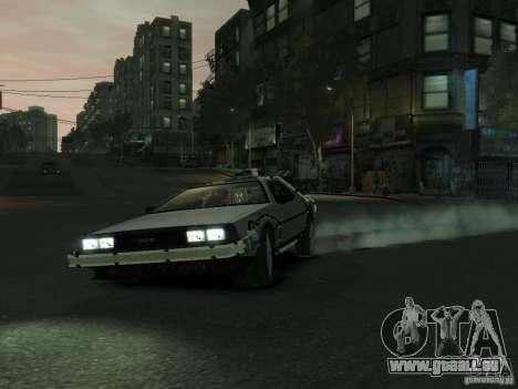 DeLorean BTTF 2 für GTA 4 linke Ansicht