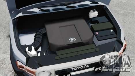 Toyota FJ Cruiser für GTA 4 Innenansicht