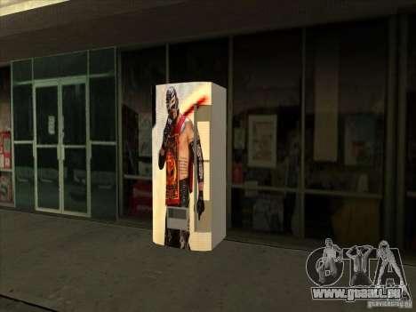 Boissons gazeuses Ray Mysterio pour GTA San Andreas troisième écran