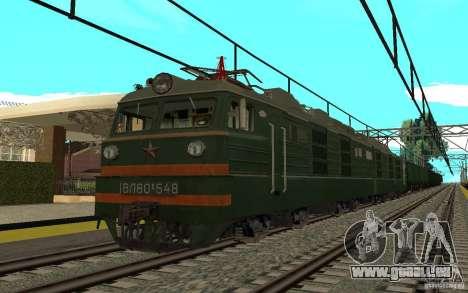 Chemin de fer II mod pour GTA San Andreas troisième écran