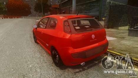Fiat Punto Evo Sport 2010 für GTA 4 hinten links Ansicht