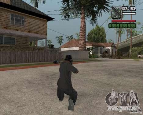 New MP5 (Submachine gun) für GTA San Andreas zweiten Screenshot