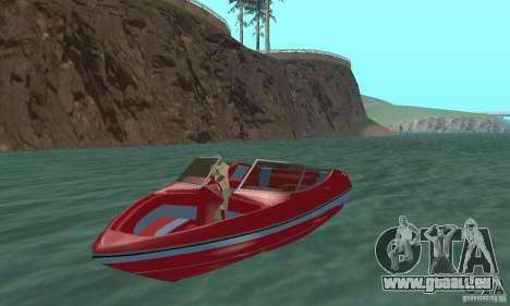 Speedboat für GTA San Andreas