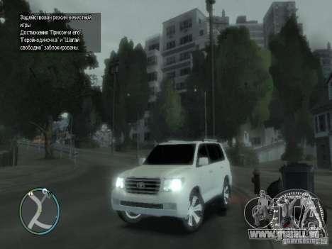 Toyota Land Cruiser 200 FINAL für GTA 4 obere Ansicht