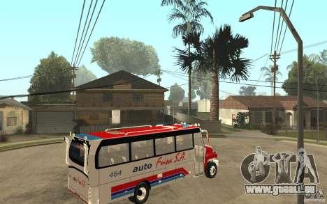 Kodiak B70 - Autofusa Colombia pour GTA San Andreas vue de droite