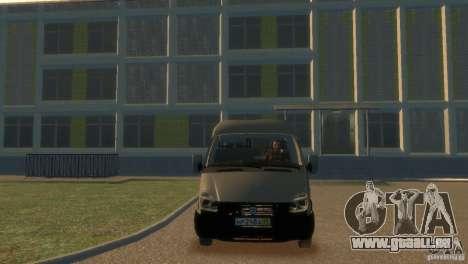GAZ 2752 Sobol pour GTA 4 est un droit