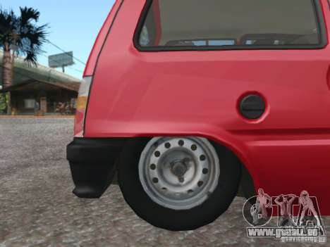 VAZ 1111 Oka pour GTA San Andreas laissé vue