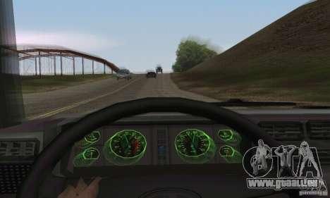 Vaz 2107 Stock v.2 für GTA San Andreas Rückansicht