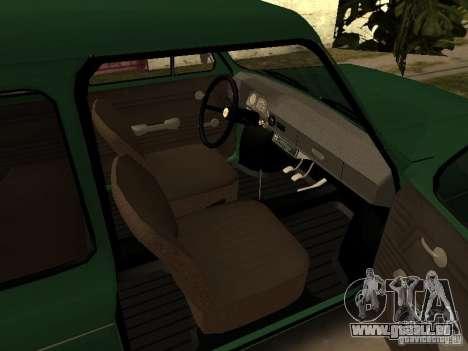 ZAZ 968 m v2 pour GTA San Andreas vue de droite