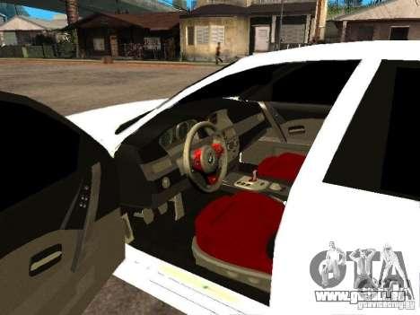 Bmw M5 Ls Ninja Stiil für GTA San Andreas zurück linke Ansicht