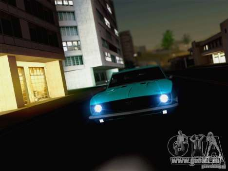 New Car Lights Effect für GTA San Andreas her Screenshot