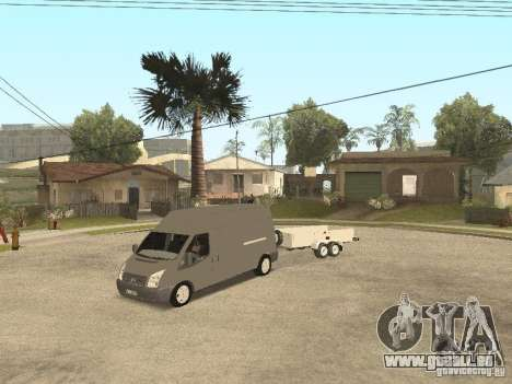 Ford Transit 2007 pour GTA San Andreas