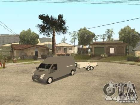 Ford Transit 2007 pour GTA San Andreas