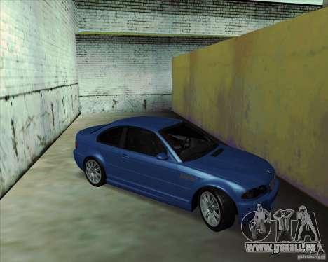 BMW M3 E46 stock für GTA San Andreas rechten Ansicht