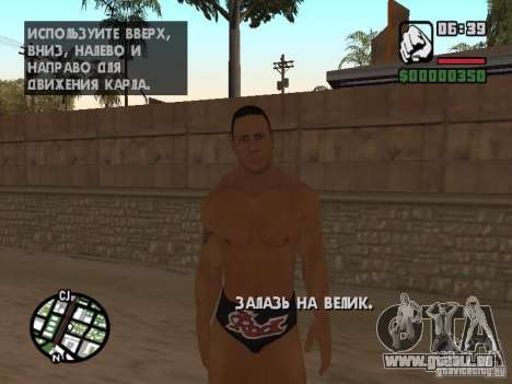 The rock für GTA San Andreas fünften Screenshot
