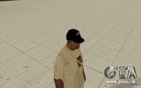 Boss Black cap für GTA San Andreas zweiten Screenshot