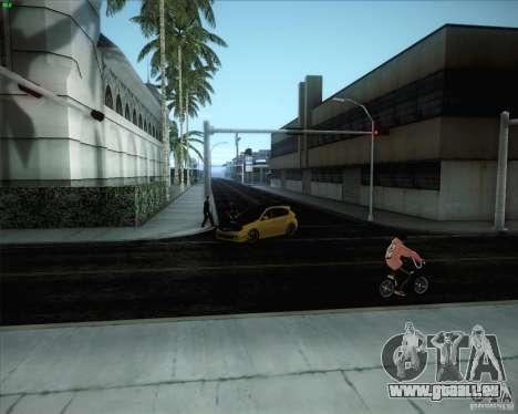 Nouvelles routes autour de San Andreas pour GTA San Andreas sixième écran