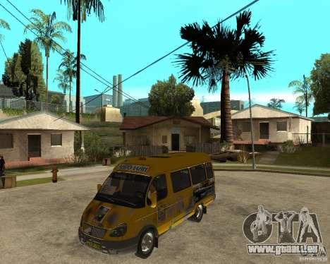 Gaz Gazelle 2705 Minibus pour GTA San Andreas