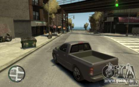 Dodge Ram SRT10 für GTA 4 hinten links Ansicht
