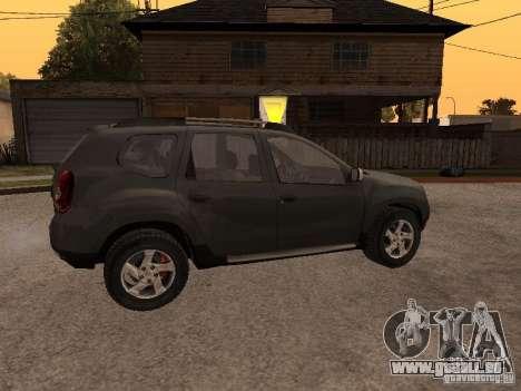 Dacia Duster pour GTA San Andreas vue de côté