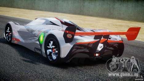Mazda Furai Concept 2008 für GTA 4 rechte Ansicht