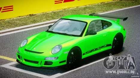 Porsche 997 GT3 RS pour GTA 4 est une gauche