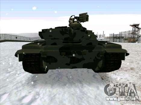 T-90 de Battlefield 3 pour GTA San Andreas vue de droite