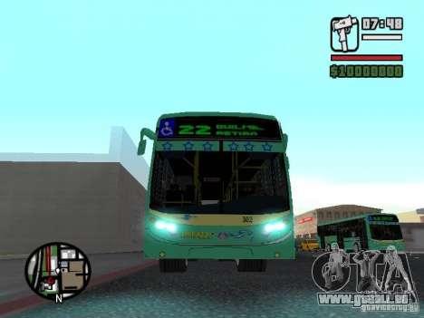 Metalpar 22 pour GTA San Andreas vue intérieure