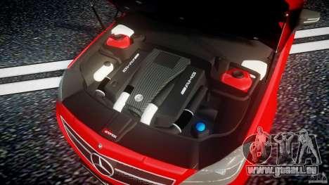 Mercedes-Benz CLS 63 AMG 2012 für GTA 4 Rückansicht