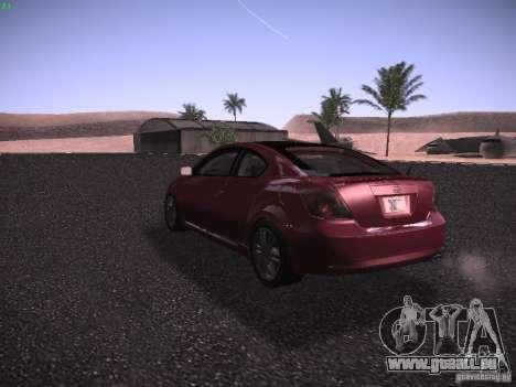 Scion tC pour GTA San Andreas vue de droite