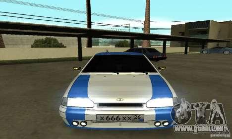Ваз 2114-Nogaier Tun für GTA San Andreas rechten Ansicht