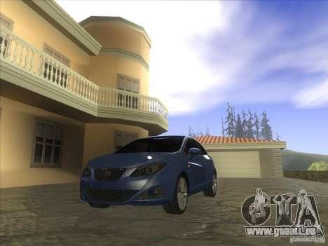 Seat Ibiza 2008 pour GTA San Andreas