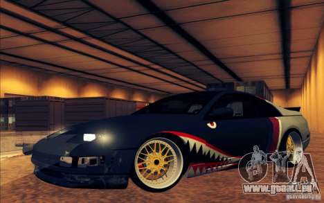 Nissan 300ZX Bad Shark pour GTA San Andreas salon