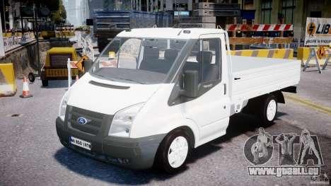 Ford Transit Pickup 2008 pour GTA 4