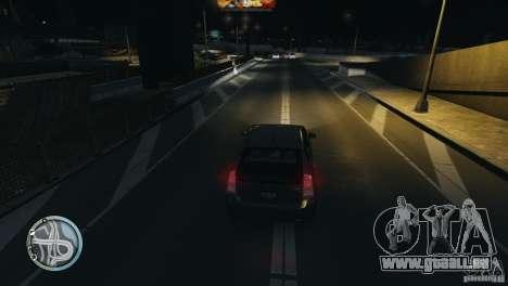 Glossy Radar pour GTA 4 troisième écran