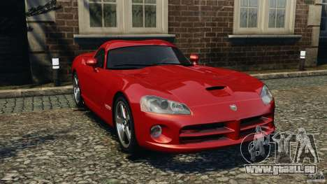 Dodge Viper SRT-10 Coupe für GTA 4