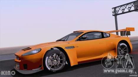 Aston Martin Racing DBRS9 GT3 für GTA San Andreas Rückansicht