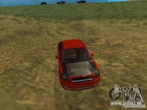 Toyota Avensis TRD Tuning pour GTA San Andreas vue de côté