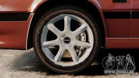 Volvo 850 Wagon 1997 pour GTA 4 est une vue de l'intérieur