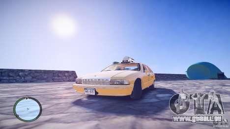Chevrolet Caprice Taxi pour GTA 4