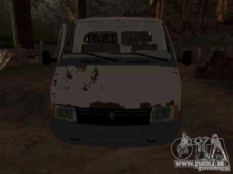 Une Gazelle pour GTA San Andreas deuxième écran