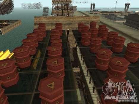 Huge MonsterTruck Track für GTA San Andreas zwölften Screenshot