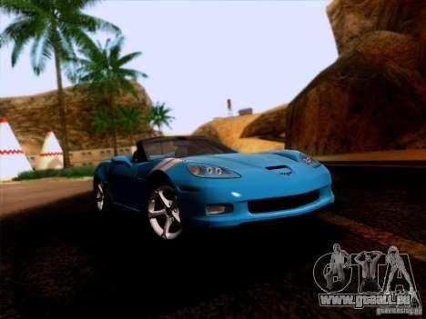 Chevrolet Corvette C6 Convertible 2010 pour GTA San Andreas