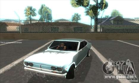 Mazda RX-2 2-door Coupe US für GTA San Andreas