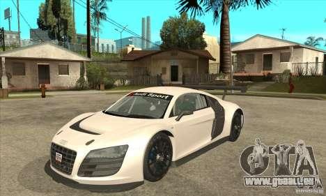 Audi R8 LMS v1 pour GTA San Andreas