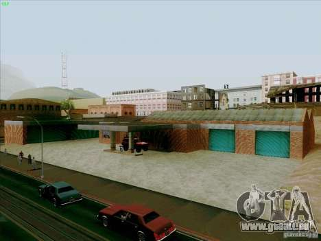Nouveau garage de Doherty pour GTA San Andreas