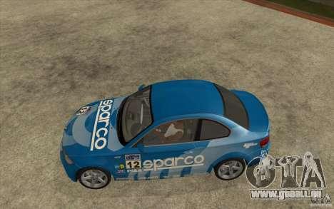 BMW 135i Coupe pour GTA San Andreas vue de côté